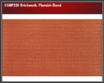 Wills SSMP226 Brickwork, Flemish Bond